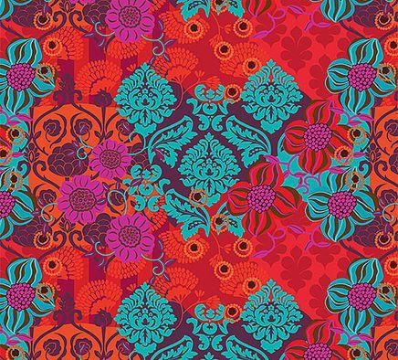 Estampas desenvolvidas pela artista plástica Bebel Franco com exclusividade para Papel Craft