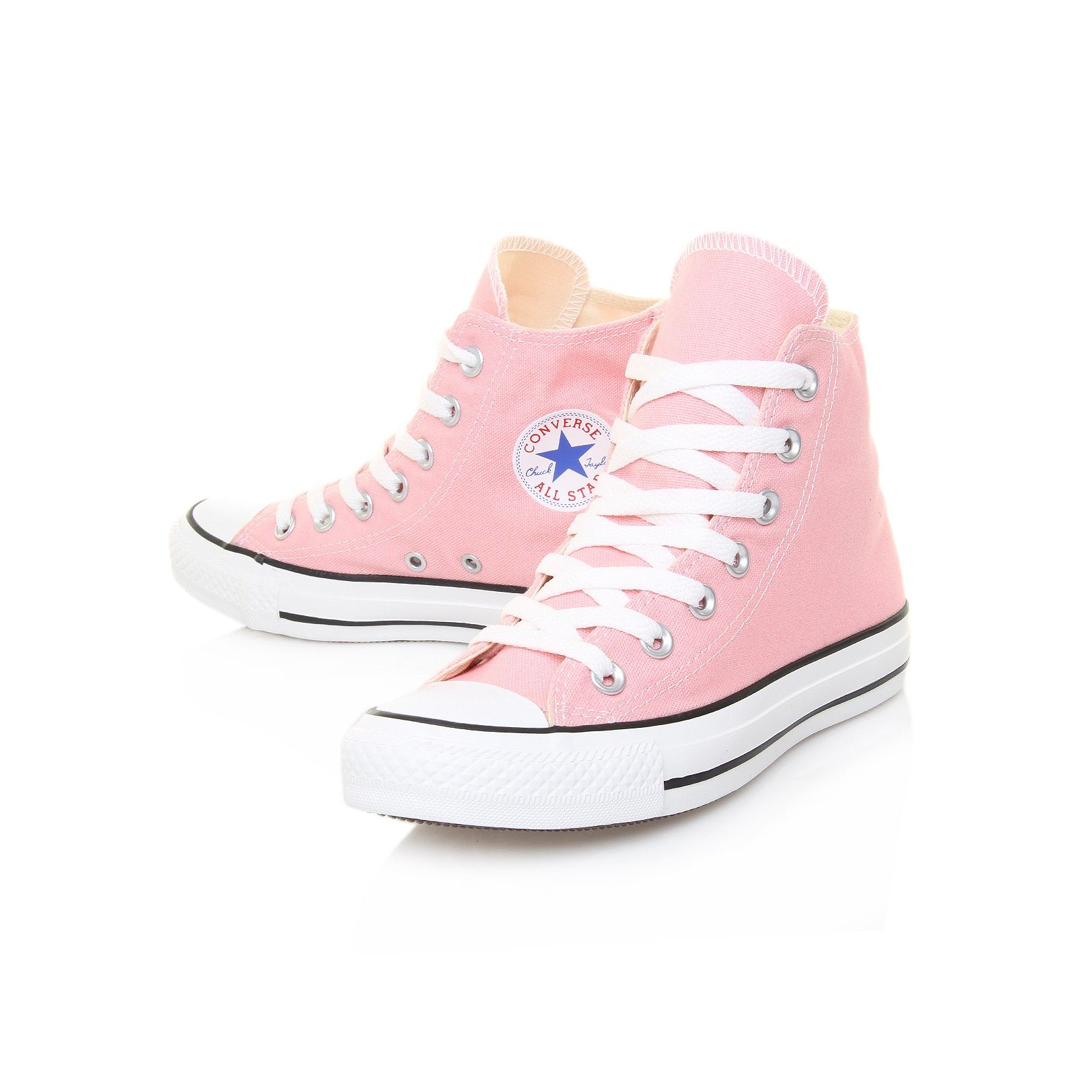 chuck taylor all star hi pale pink converse shoe