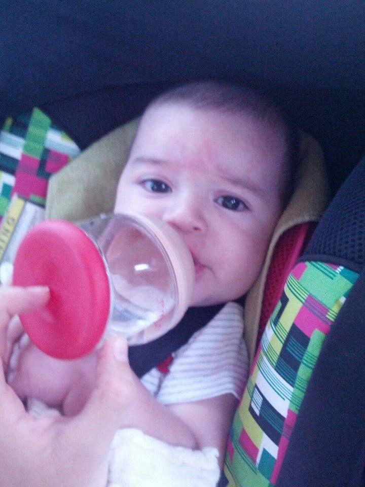 Tomás de 3 meses, también pasa sus vacaciones en La Serena con una NTH. Gracias Romina Pozo por compartir esta hermosa foto.
