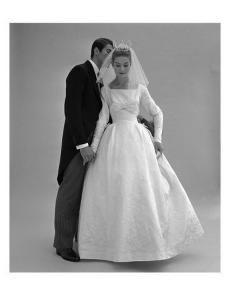 Pin by wildflower on vintage bridal dresses pinterest Wedding dress 1960
