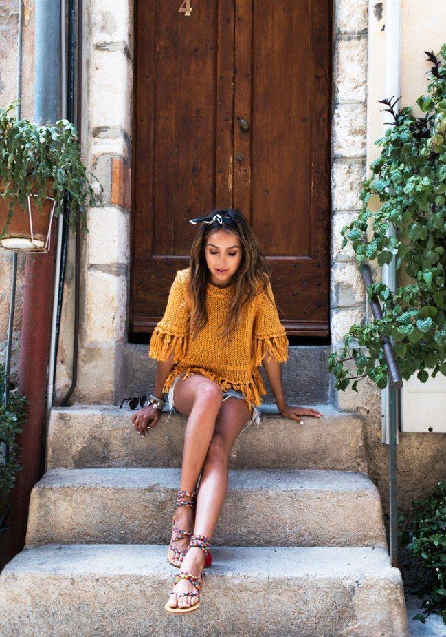 50 beste Sommer-Outfits mit Denim-Shorts