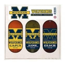 Michigan Wolverines Grilling Set