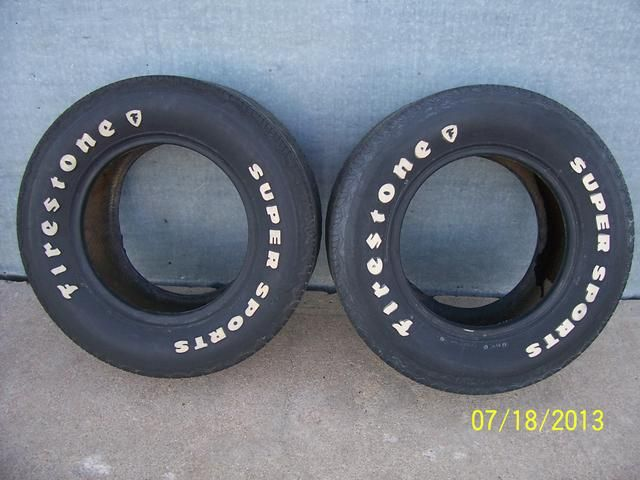 sold old pair of firestone supersports white letter tires