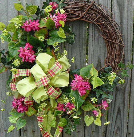 Garland For Front Door: Best 25+ Front Door Wreaths Ideas On Pinterest