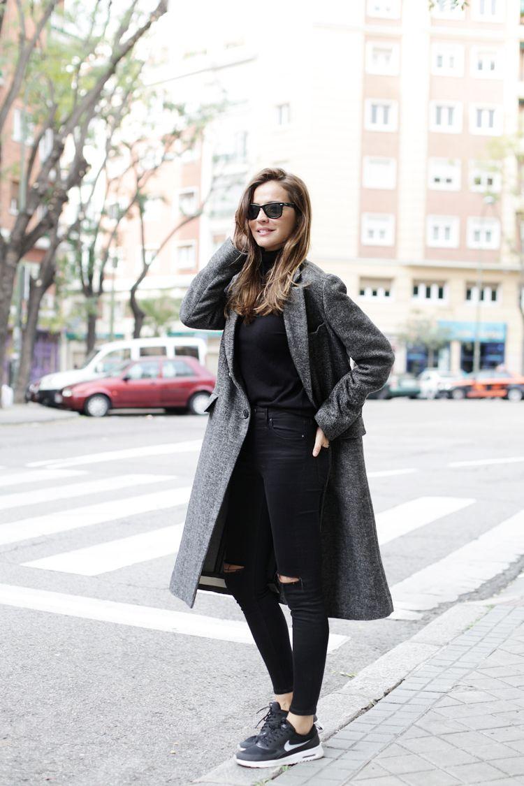 nike air max thea premium womens beige trench coat