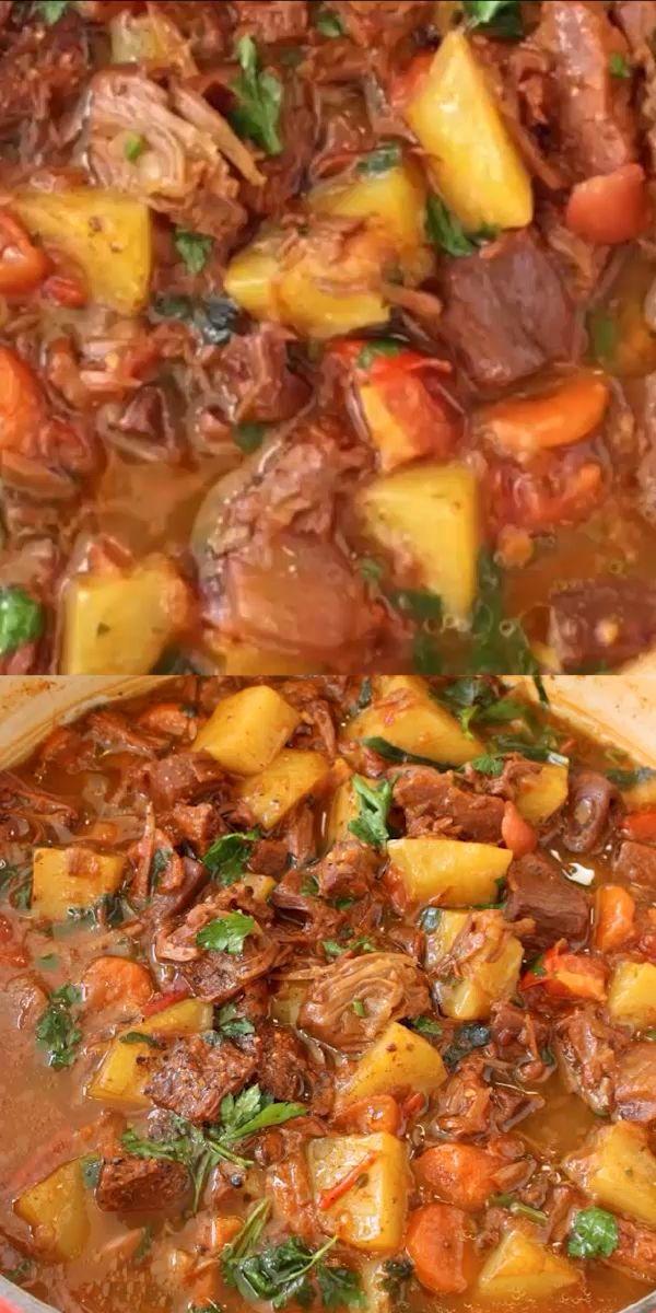 Vegan Potato Jackfruit Stew