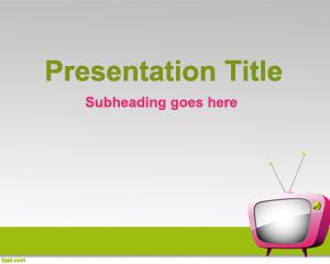 online tv powerpoint template is a technology powerpoint template