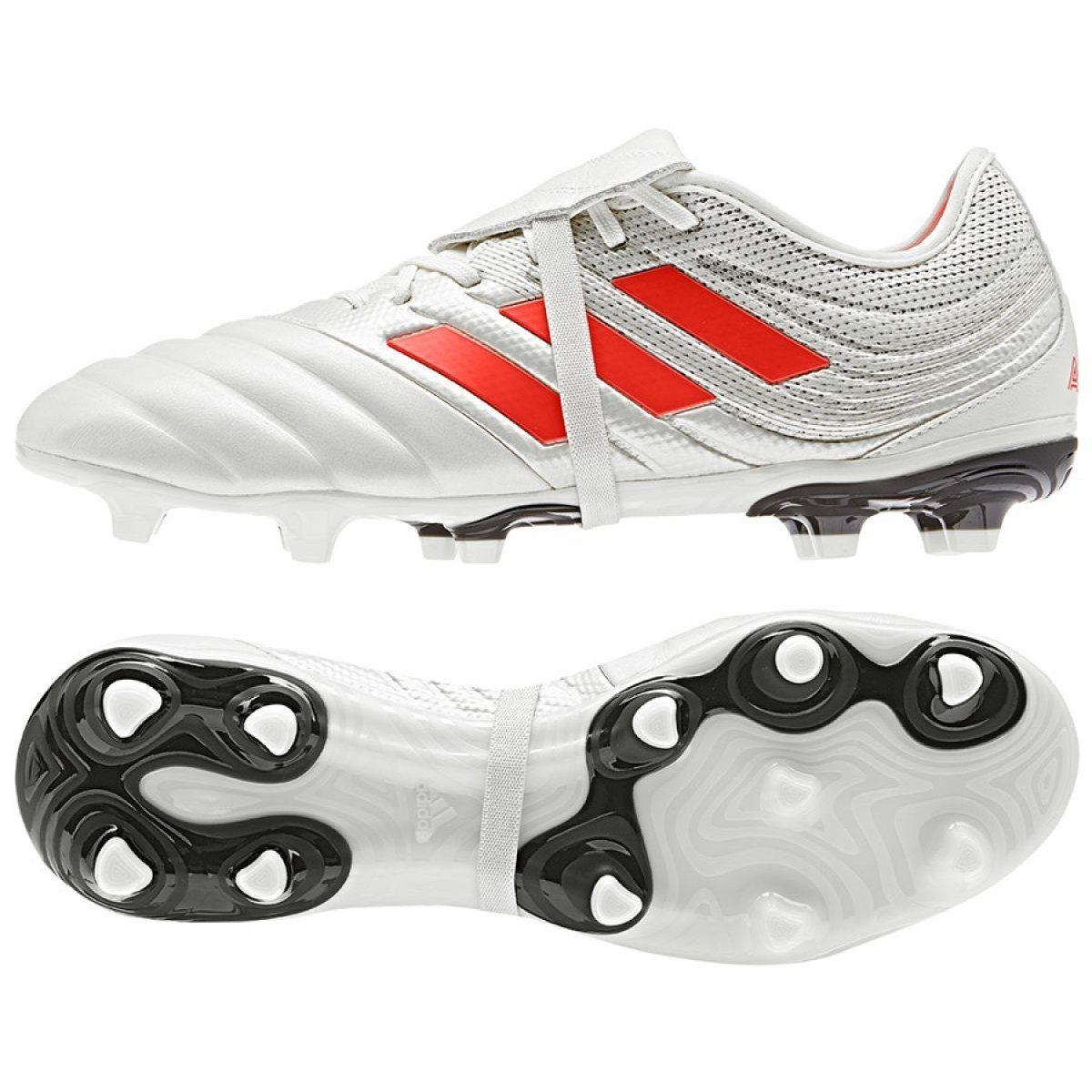 Buty Piłkarskie Męskie Adidas Copa Gloro 19.2 Fg Biały