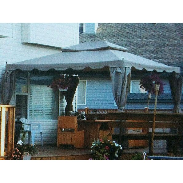 Costco Home Casual 10 x 12 Scalloped Replacement Canopy  sc 1 st  Pinterest & Costco Home Casual 10 x 12 Scalloped Replacement Canopy | outdoor ...