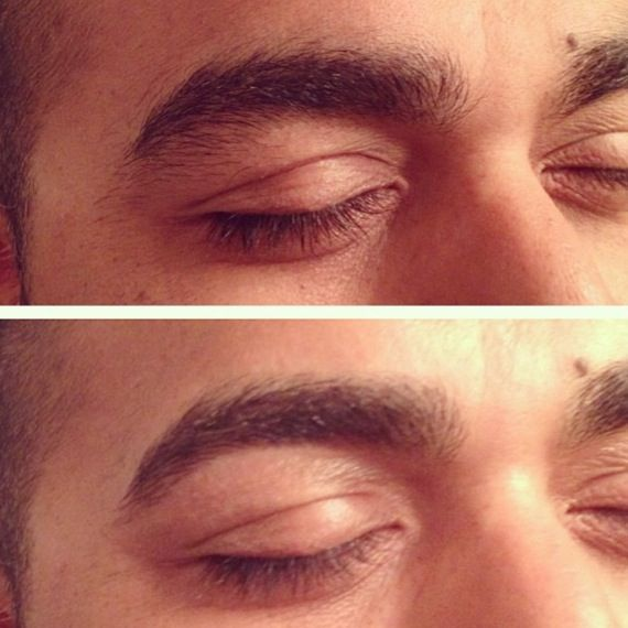 Yes Men Can Use A Cleanup Also Men Eyebrows Grooming Guys