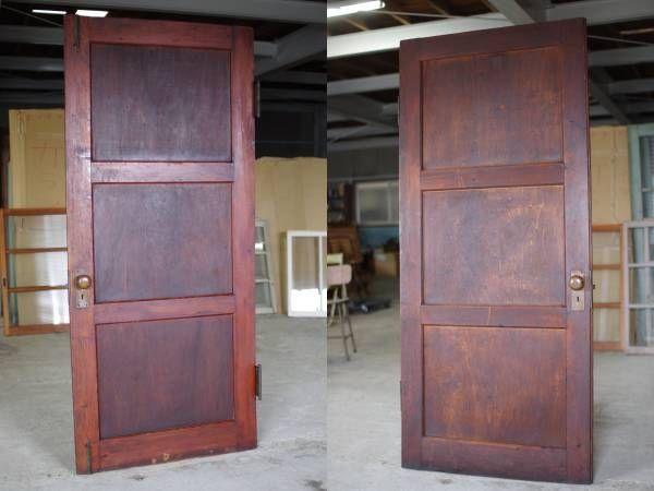 Door 古い木製のドアアンティーク建具木製扉カフェ洋館 インテリア