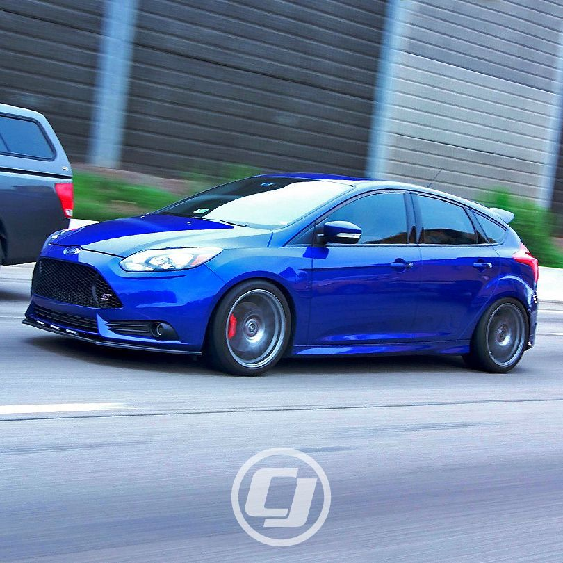 Excellent Rolling Shot Of Adam S Focusst Ford Focus St Ford