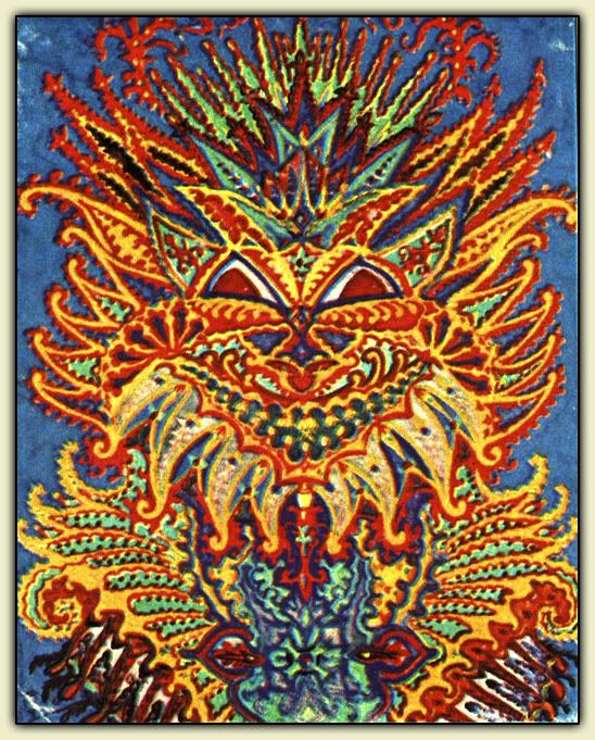 Louis Wain Schizophrenia Cat Encroaching Psychosis As Indexed By