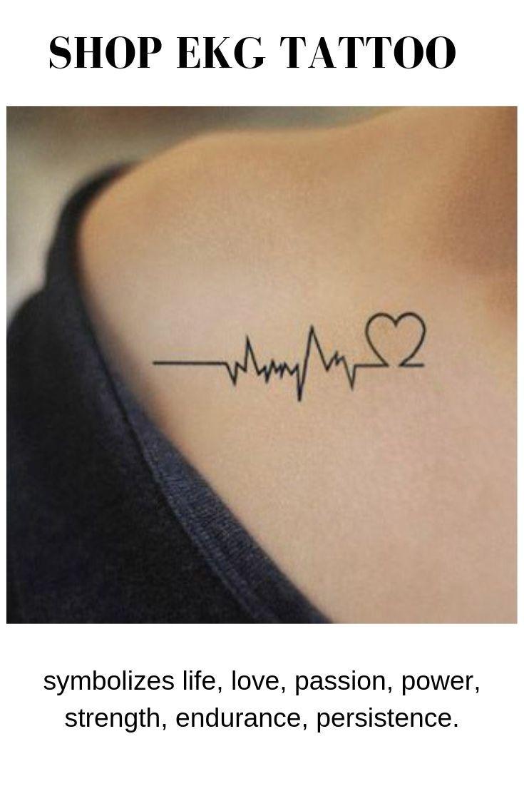 Heartbeat Lines Tattoo : heartbeat, lines, tattoo, Heartbeat, Tattoo, Tattoo,, Tattoos
