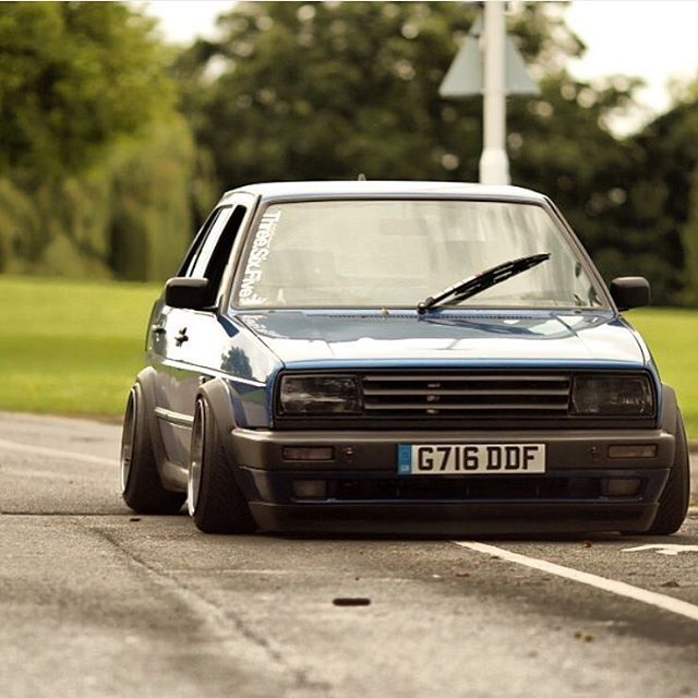 #mulpix Beautiful Mk2 Jetta GTI Follow Us! @slammedforlife