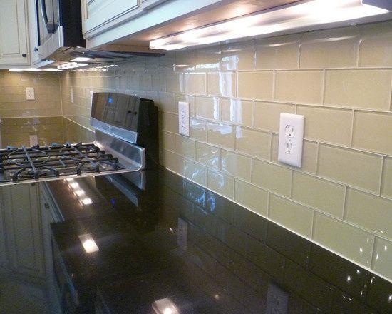 cream glass subway tile cream soda glass subway tile backsplash rh pinterest com