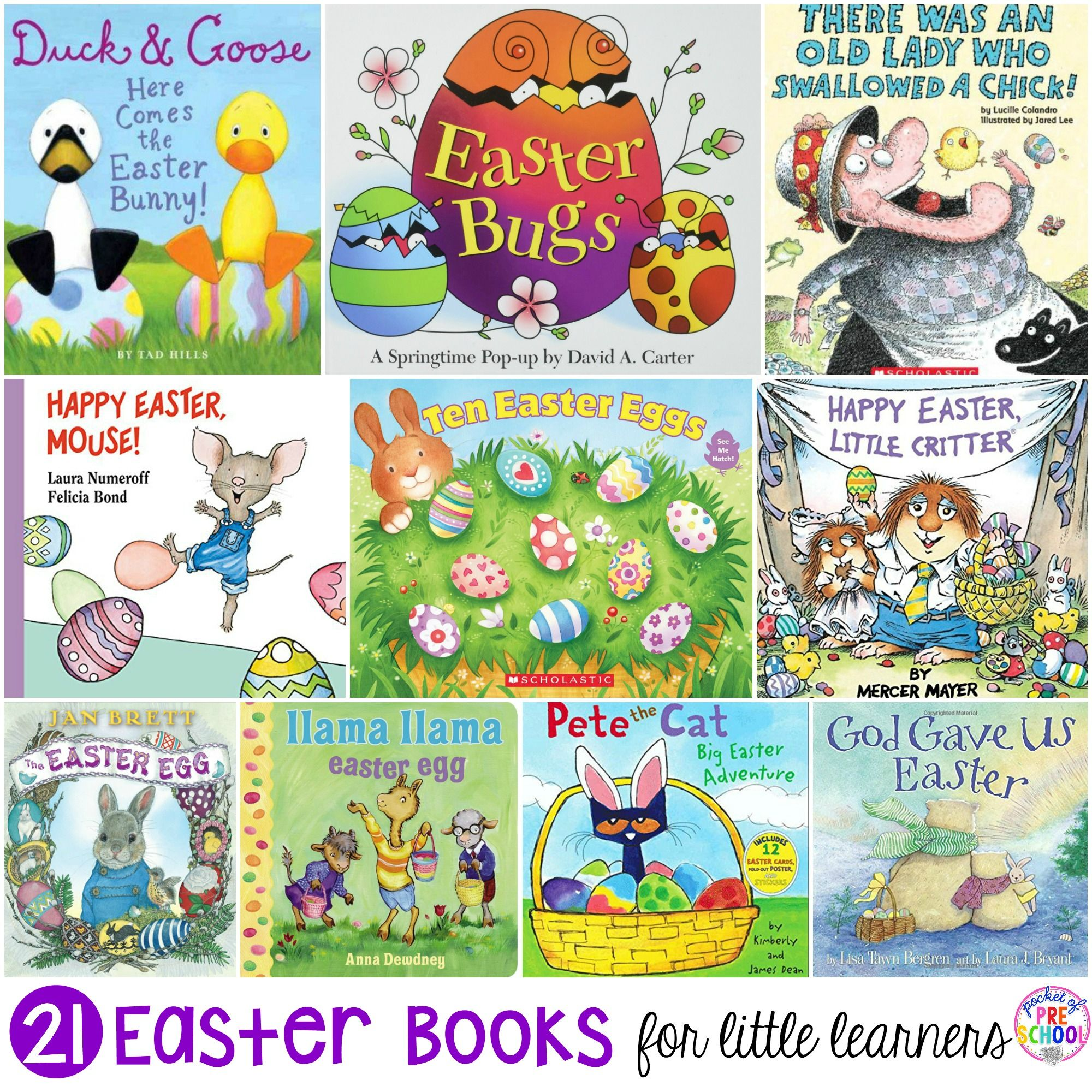 Easter Books For Little Learners