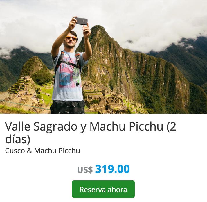 El tour cuenta con salidas diarias confirmadas y es posible reservarlo hasta con 48 horas de anticipación. No obstante, los ingresos tanto a la ciudadela de Machu Picchu como a las montañas Huayna Picchu y Machu Picchu están siempre sujetos a disponibilidad, por lo que te recomendamos realizar la reserva con la mayor antelación posible.  #arosdecebolla #coliseoromano #dubai #per #adventure #photography #perutattoo #aplastadostulua #tatuajesperu #quesomozarella #cuscotattoo #machupicchutravel