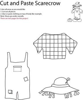 Super Scarecrow Cutout 2 Of 2 Halloween Crafts Free Printable Interior Design Ideas Inesswwsoteloinfo
