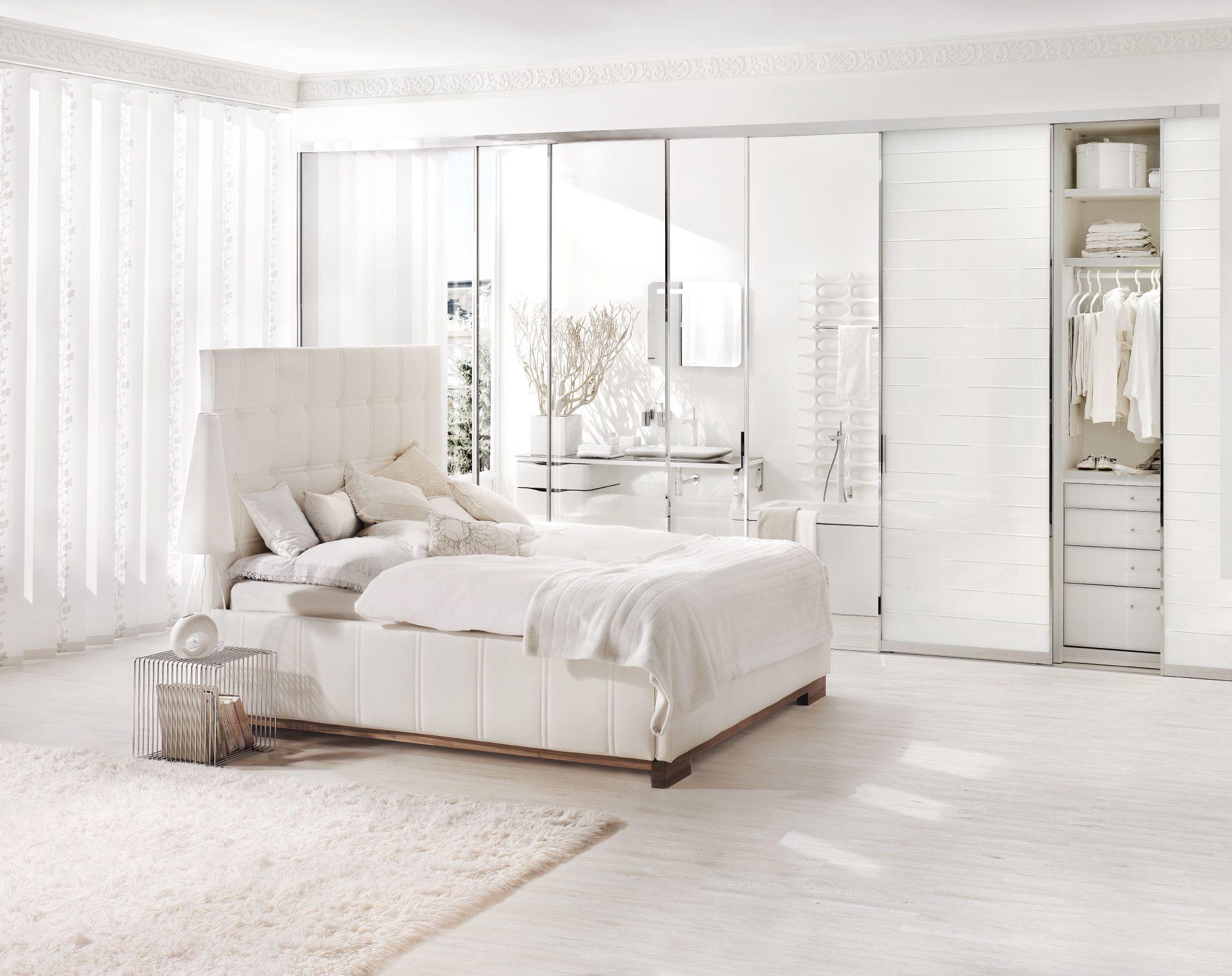 Weißer Einbauschrank Mit Spiegeln Einbauschraenke - Einbauschranke schlafzimmer