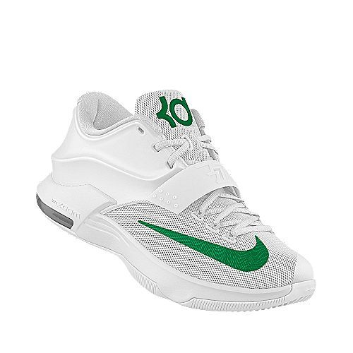 I designed the white North Texas Mean Green Nike women's basketball shoe.