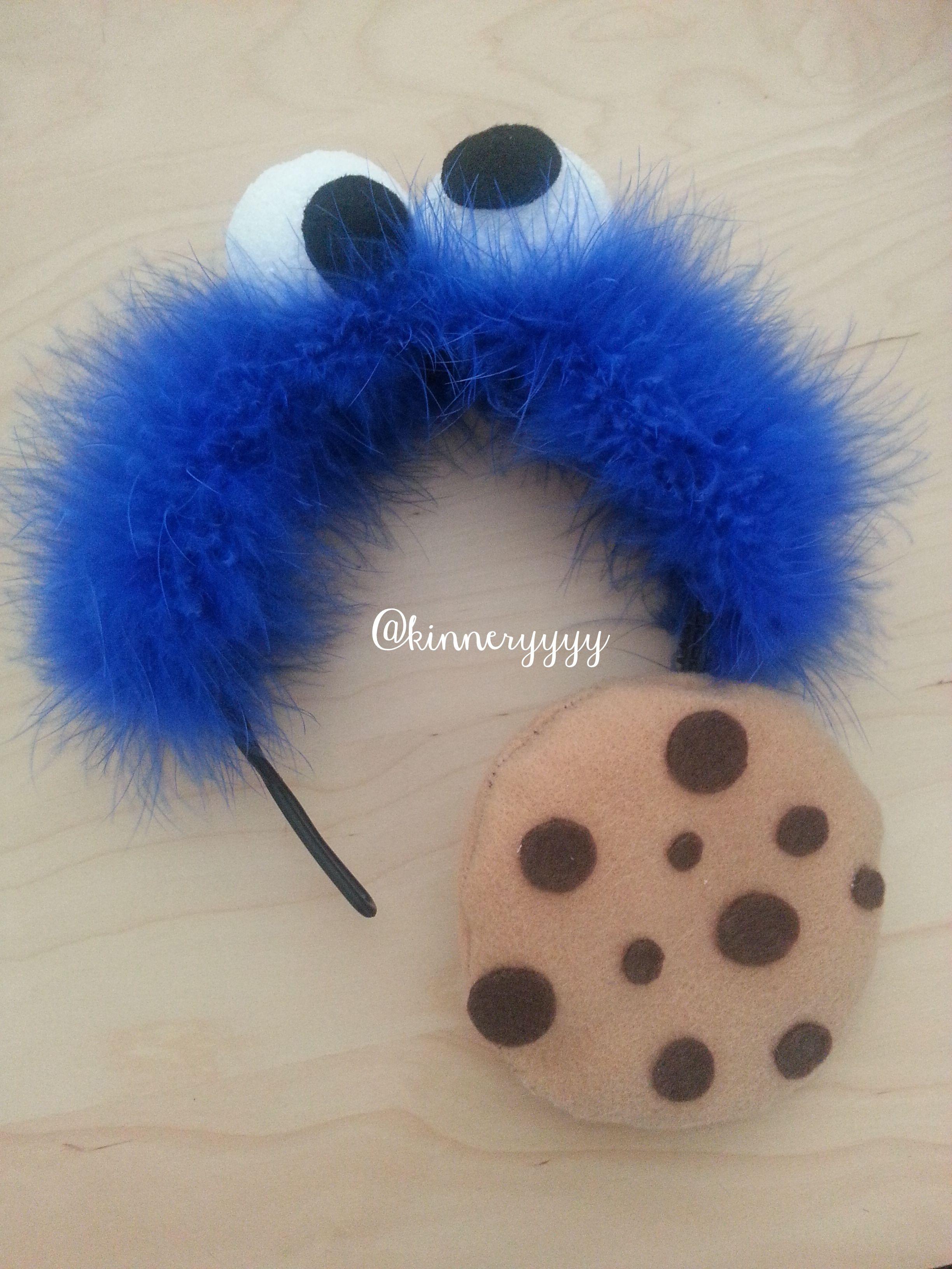 Monster Halloween Cookies: Cookie Monster Halloween Costume Headband