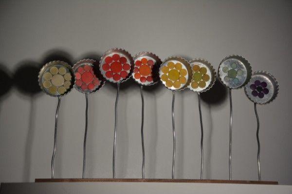 Rainbow Flowers | Recyclart