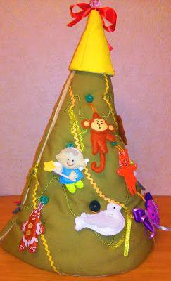 Умей-ка!: Детская мягкая елка