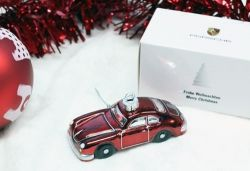 Porsche 356 Christmas Ornament