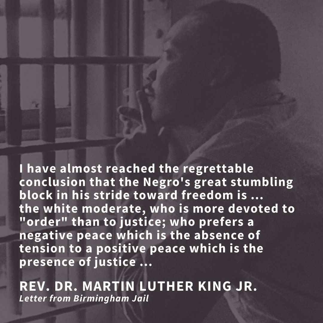 Rev Dr William J Barber Ii On Twitter Letter From Birmingham Jail Quote Mlk Quotes
