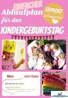 Kindergeburtstag Ablauf – mit jeder Menge Spaß (auch für die Eltern)