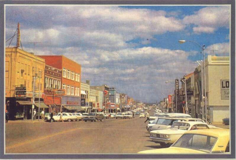 Downtown lawton 1960s lawton downtown