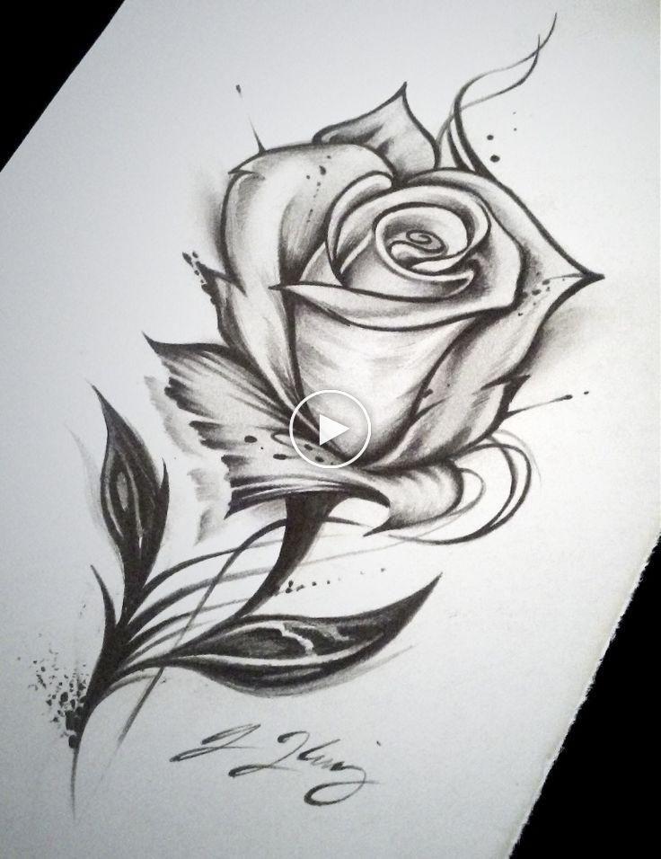 Rose Tattoo Drawing Kunst Drawing Kunst Rose Tattoo Dibujos De Rosas Dibujos A Lapiz Rosas Dibujos Romanticos A Lapiz
