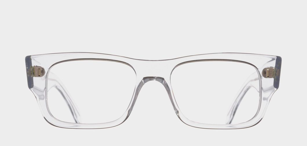 1214 . A classic, rectangular optical frame featuring a straight ...