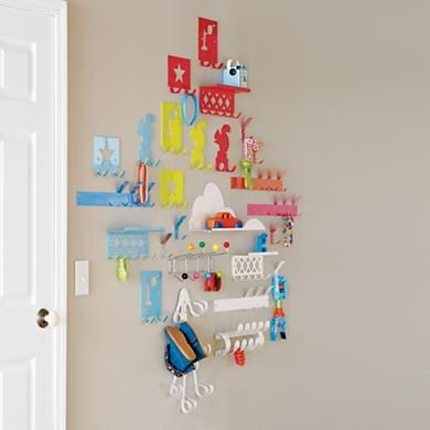 Kids' Wall Clothing Rack - Land of Nod