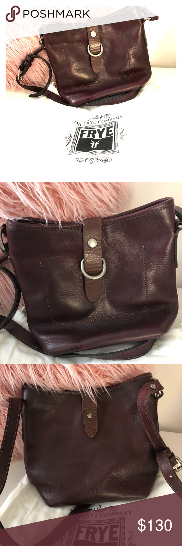 5e8007bf3 EUC Frye Handbag Amazing leather handbag. Soft leather, as Frye is know  for! Frye Bags Shoulder Bags