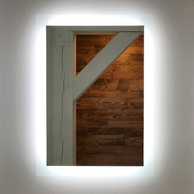 Seitlich Beleuchteter Led Badezimmerspiegel 50 X 70 Cm