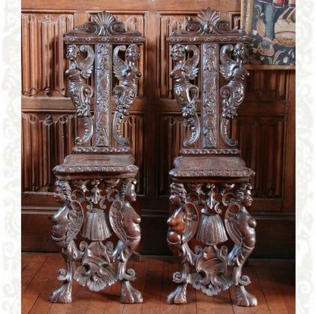 French 16th Century Period Of Francis I R 1515 1547 Prelate S Chair Medieval Furniture Gothic Furniture Church Furniture