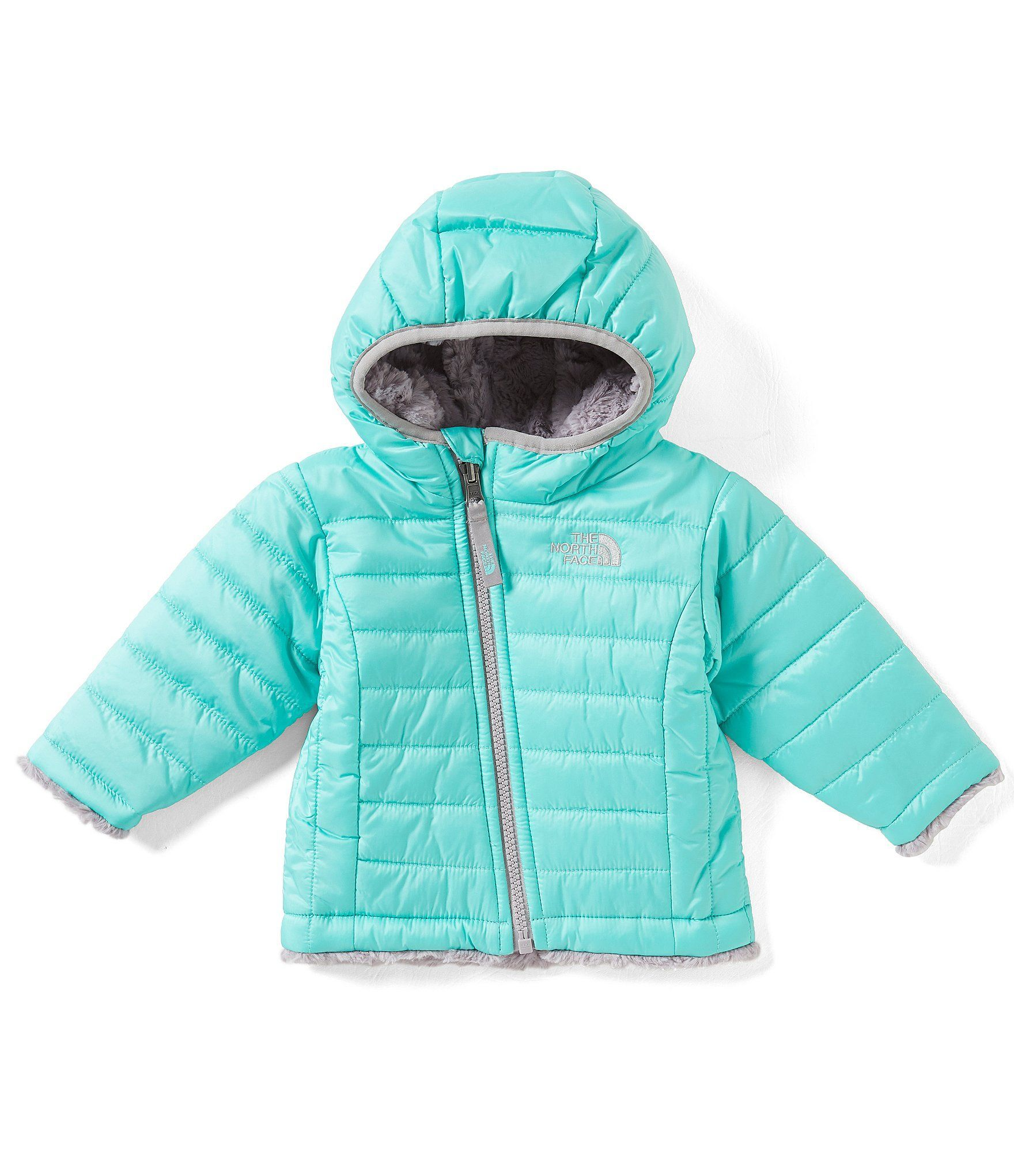 a970d0a42c2f Shop for The North Face Baby Girls 3-24 Months Reversible Mossbud ...