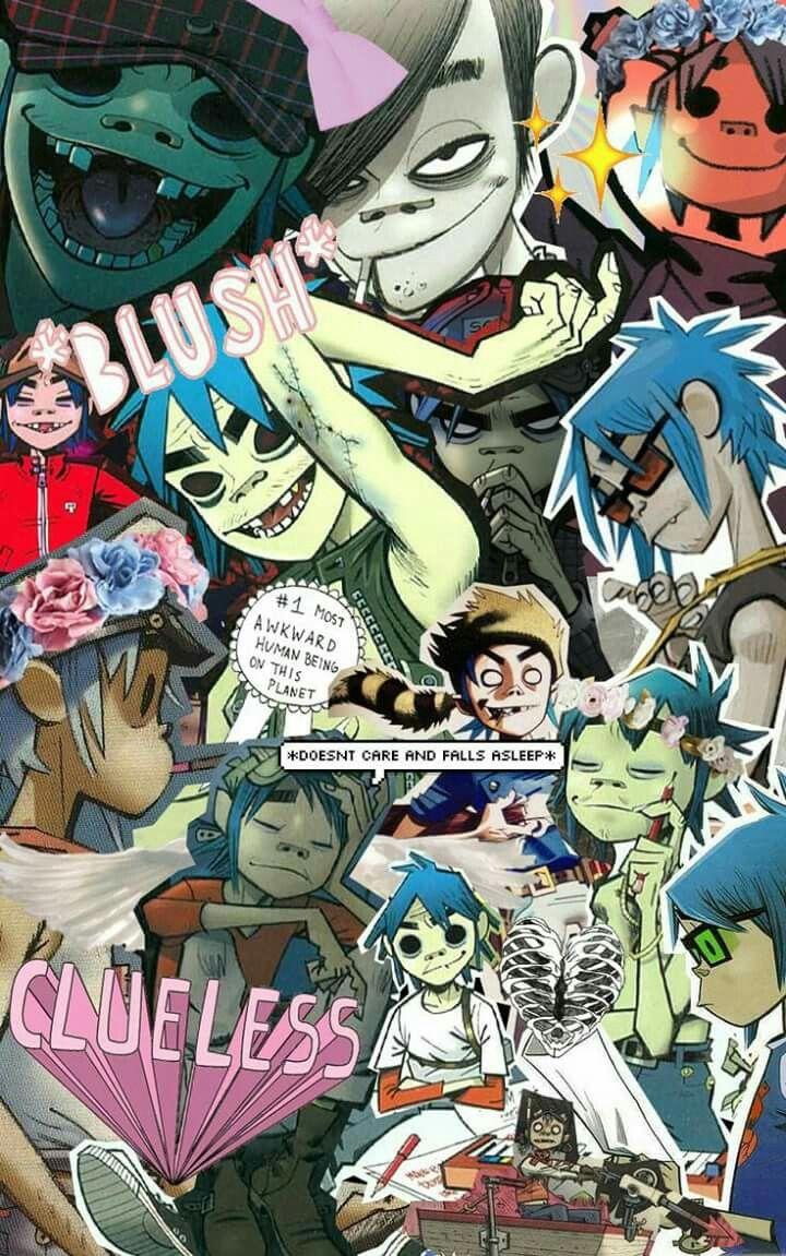 Pin by ariel on gorillaz pinterest gorillaz music and - Gorillaz 2d wallpaper ...