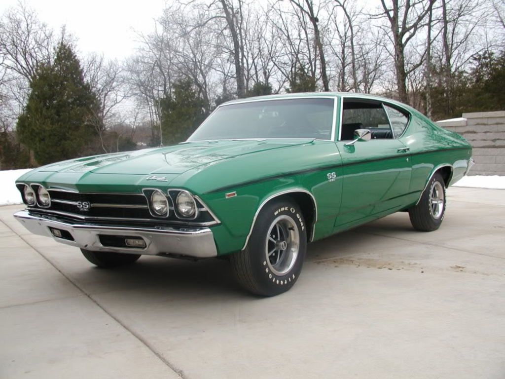 his is the only known 1969 rallye green l78 ss 396 chevelle rallye rh pinterest com