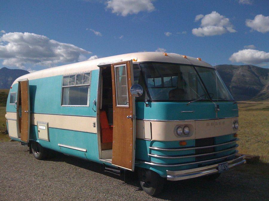 dodge travco bus motorhome rv camper van motorhome pinterest location camping car. Black Bedroom Furniture Sets. Home Design Ideas