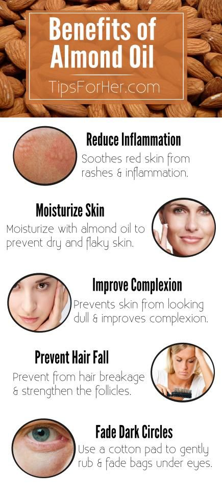 5 Benefits Using Almond Oil - Improve skin complexion ...
