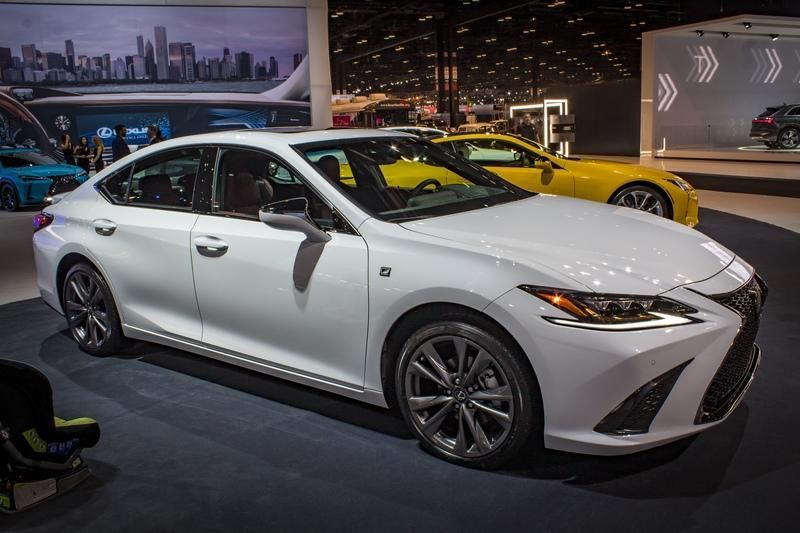 2019 Lexus ES 350 F Sport Lexus es, Lexus suv, Lexus sedan