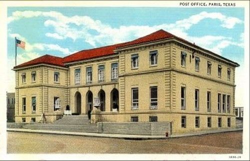 The Old Post Office - Paris, TX