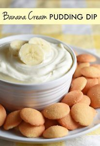 This Banana Cream Pudding Dip tastes just like the filling you use in Banana Cream Pie, minus all the hassle of making a crust and waiting for it to bake and cool!I think bananas, like eggs, are the perfect...