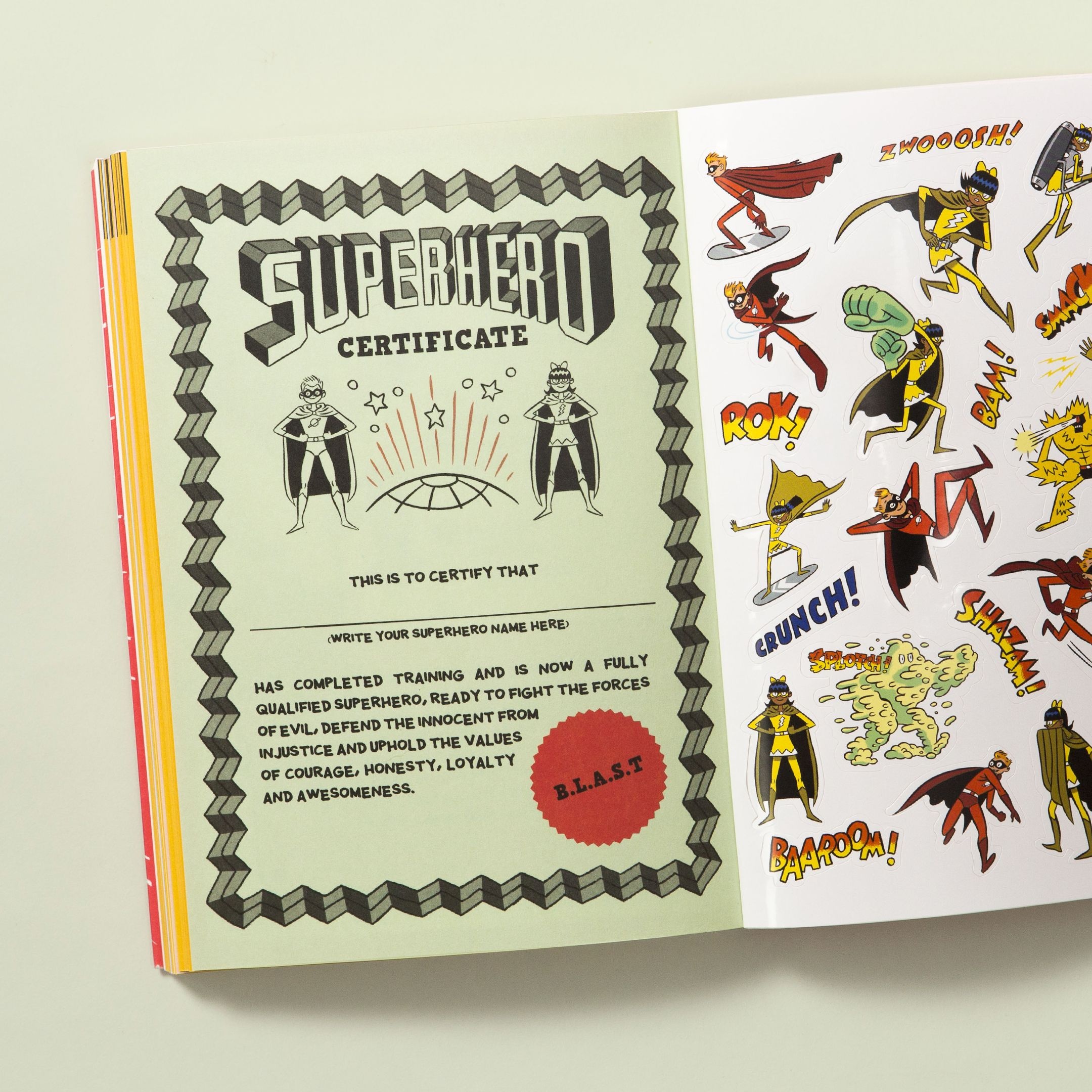 The Superhero Handbook With Images