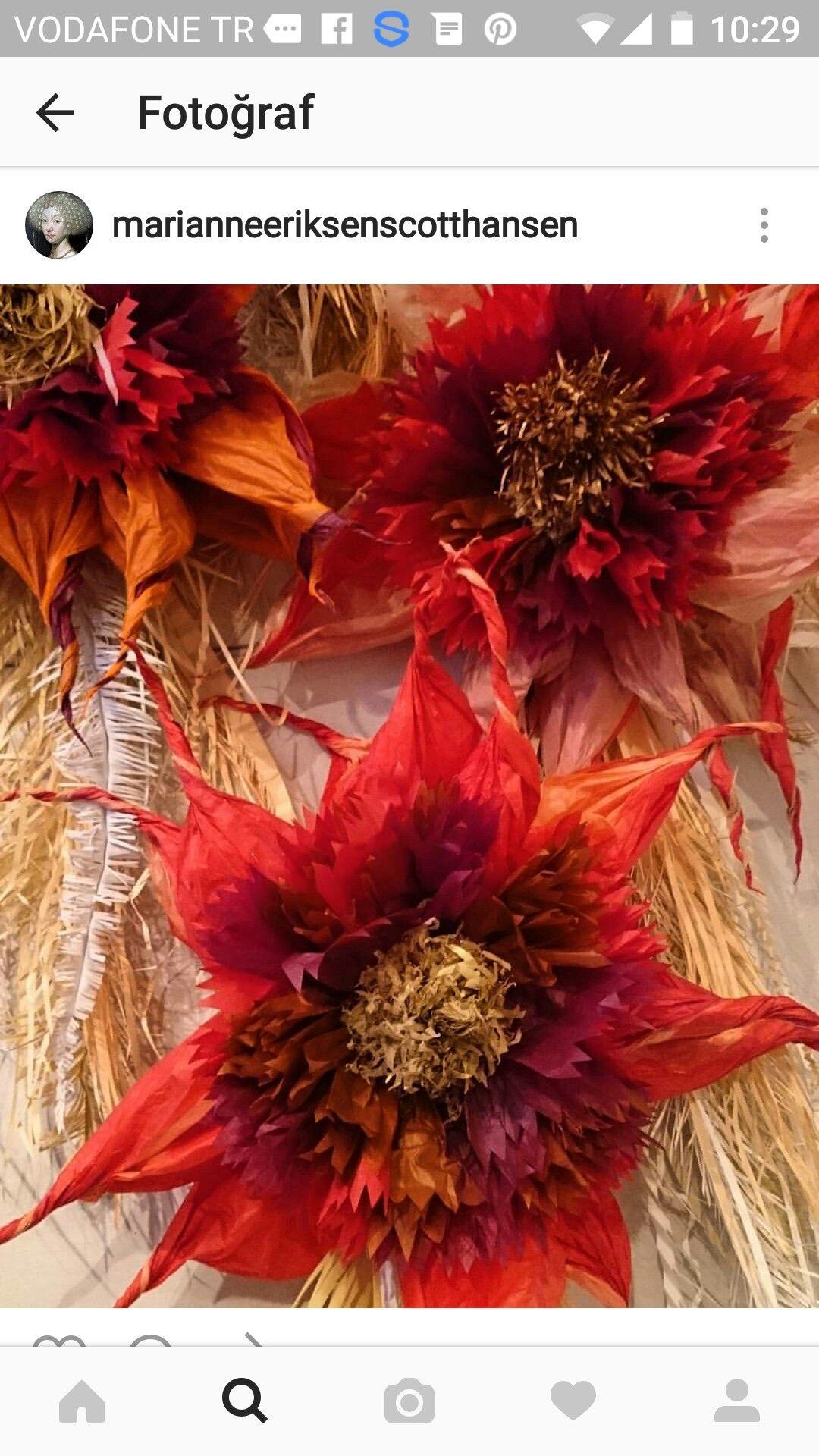 Pin By Idem Pekcetin Kucukkaya On Paper And Fabric Flowers