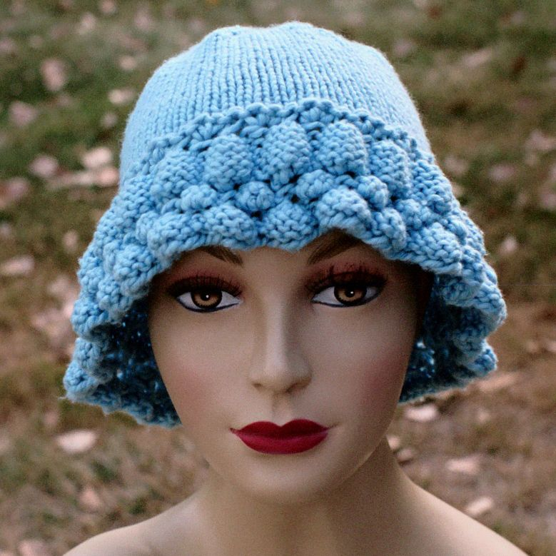 Cascade Hat Free Knitting Pattern | In the Loop Knitting ...