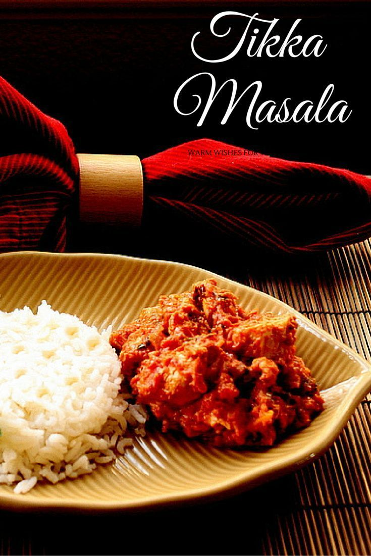 chicken tikka masala recipe american kitchen s pinterest rh pinterest co uk